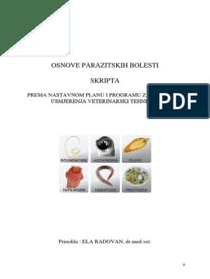 parazita trichurosis gyógyszerek a paraziták testének megtisztítására
